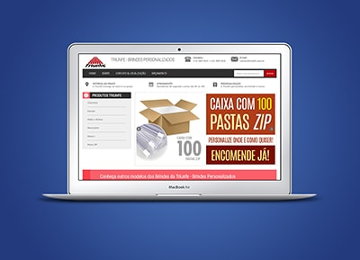 Desenvolvimento do WebSite Triunfe
